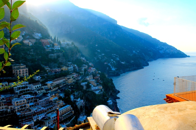 Pride and Polka Dots Positano View